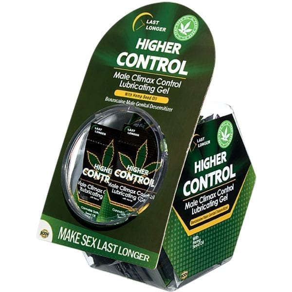 Higher Control Male Climax Foil Display of 50 - BA1604-99