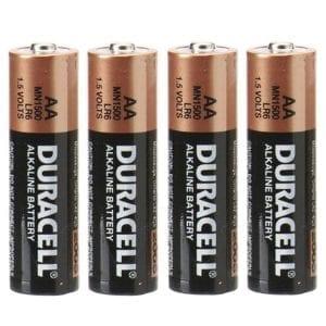 Duracell Batteries AA (4 Pack) - BAT1000-4