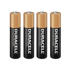 Duracell Batteries AAA (4 Pack) - BAT2000-4