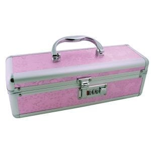 Toy Box Lockable Case-Pink (12x4x4) - BMS99-16
