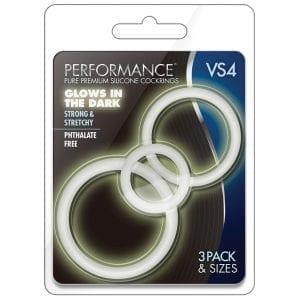 Performance VS4 Pure Premium Cockring Set-GITD - BN370819