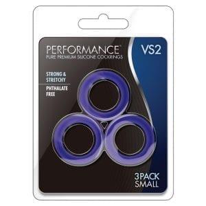 Performance VS2 Pure Premium Cockrings Small-Indigo - BN70812