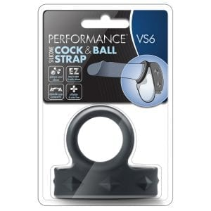 Performance VS6 Cock & Ball Strap-Black - BN91715