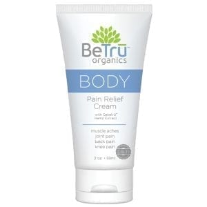 Be Tru Organics Body Pain Relief Cream 2oz - BT100