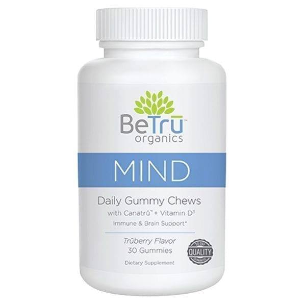 Be Tru Organics Mind Gummy Chews Bottle of 30 - BT102