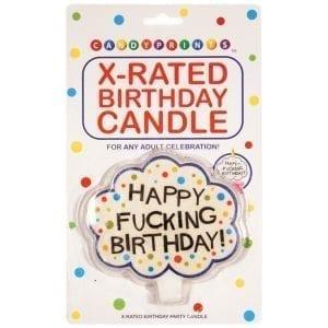 Happy F*ucking Birthday-Candle - C549