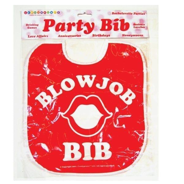 Blow Job Bib - C646