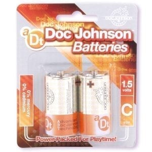 Doc Johnson Batteries C (2 Pack) - D399-06CD