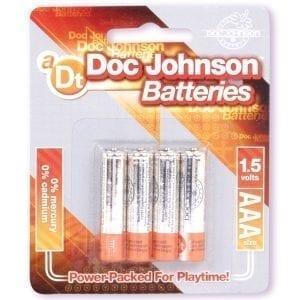 Doc Johnson Batteries AAA (4 Pack) - D399-07CD