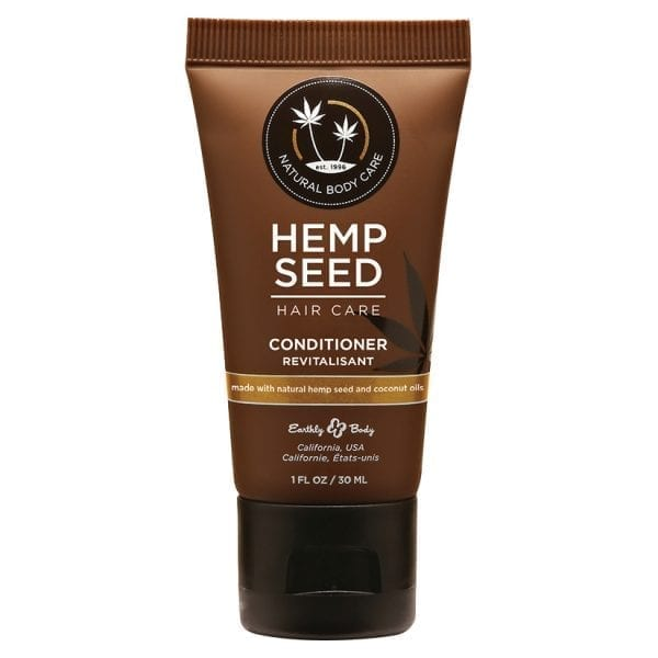 Earthly Body Hemp Seed Hair Care Conditioner 1oz - EB3001-01