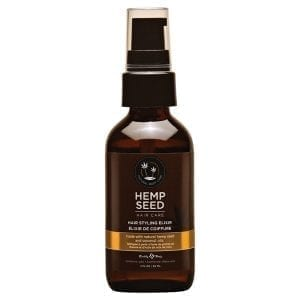 Earthly Body Hemp Seed Hair Styling Elixir 2oz - EB3003-02