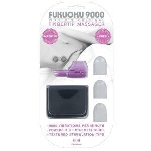 Fukuoku 9000 Fingertip Massager-Pink - FFP3018-00
