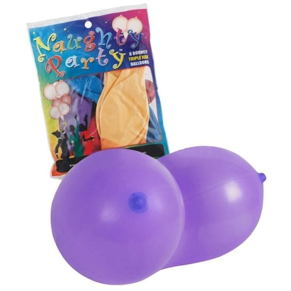 Naughty Party Boobie Balloons-Assorted (8 Pack) - GT2003C