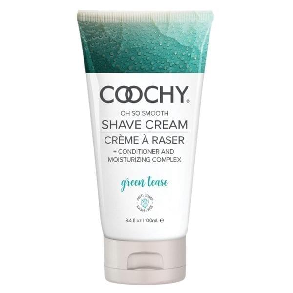 Coochy Shave Cream-Green Tease 3.4oz - HCOO1007-03