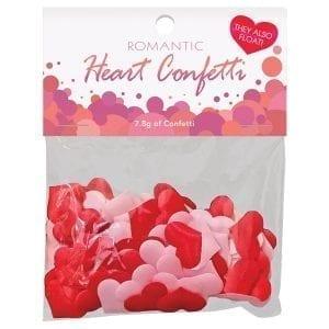 Romantic Heart Confetti - KGNVC40