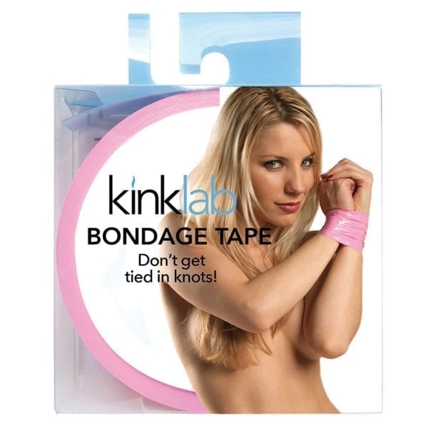 Kinklab Bondage Tape Female Packaging-Pink - KL301PK