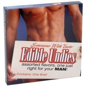 Edible Undies For Him-Strawberry/Chocolate - KNG4120
