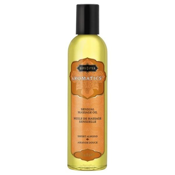 Kama Sutra Aromatic Massage Oil-Sweet Almond 2oz - KS10275