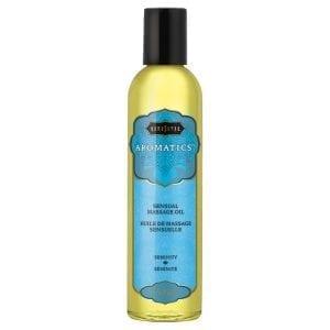 Kama Sutra Aromatic Massage Oil-Serenity 2oz - KS10277