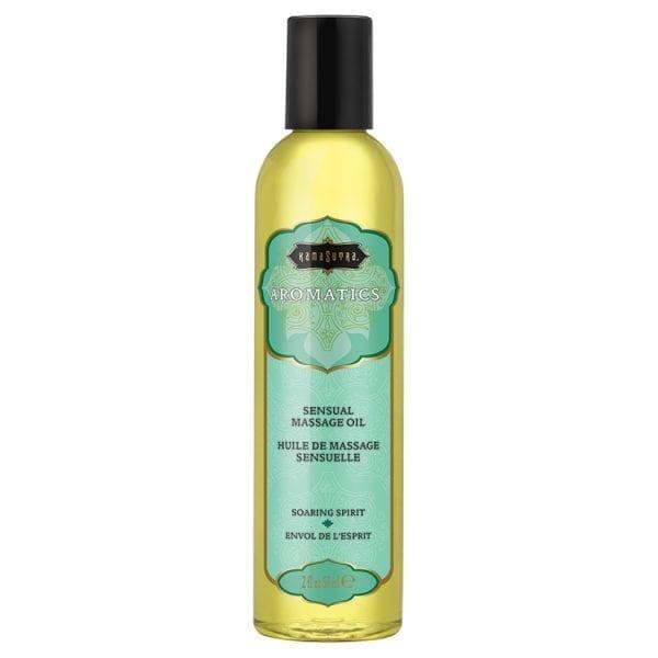 Kama Sutra Aromatic Massage Oil-Soaring Spirit 2oz - KS10279