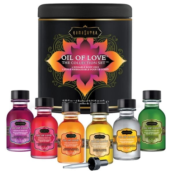 Kama Sutra Oil Of Love The Collection Set - KS12008