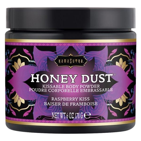 Kama Sutra Honey Dust-Raspberry Kiss 6oz - KS12013