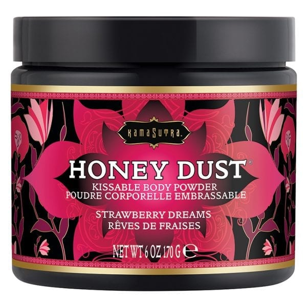Kama Sutra Honey Dust-Strawberry Dreams 6oz - KS12014