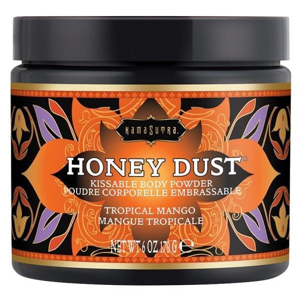 Kama Sutra Honey Dust-Tropical Mango 6oz - KS12015