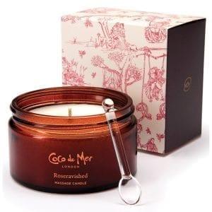 Coco de Mer Roseravished Massage Candle - LH58413
