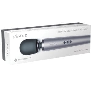 Le Wand Rechargeable Vibrating Massager-Grey - LW001GRY