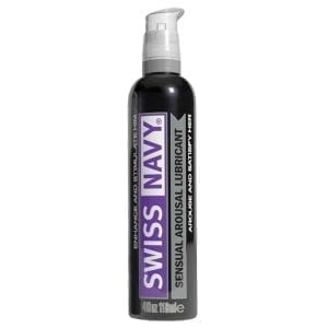 Swiss Navy Sensual Arousal Lubricant 4oz - MD6001-02