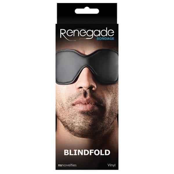 Renegade Bondage Blindfold-Black - NSN1190-13