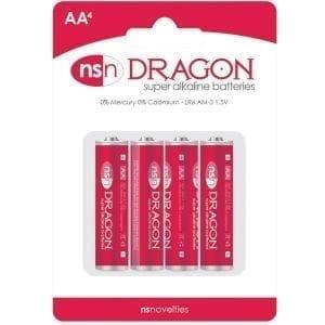 Dragon Alkaline Batteries AA (4 Pack) - NSN2010-10