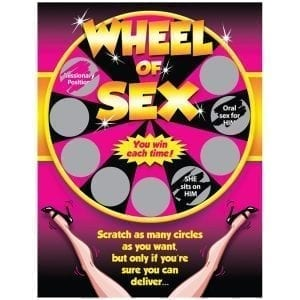 Wheel Of Sex Scratch Off - OZSCRA-20H