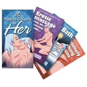 Pleasure Coupons For Her - OZVCB-22