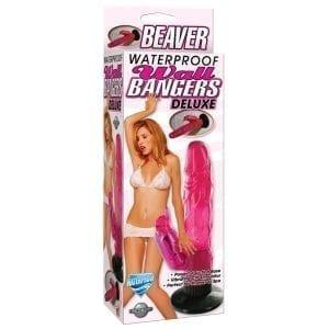 "Waterproof Wallbangers Deluxe Beaver-Pink 5.2"" - PD1654-11"