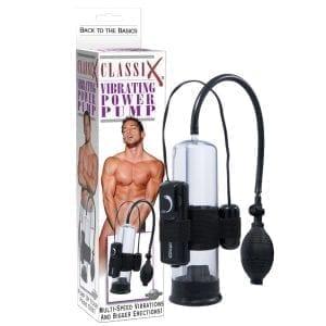 Classix Vibrating Power Pump - PD1927-00
