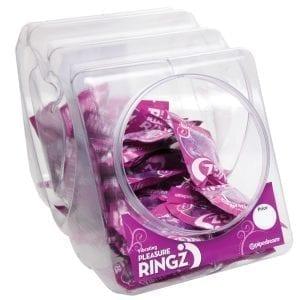 Vibrating Pleasure Ringz Bowl of 36 - PD2365-99