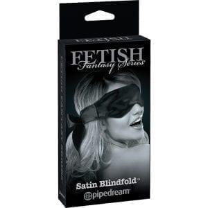 Fetish Fantasy Limited Edition Satin Blindfold-Black - PD4453-23