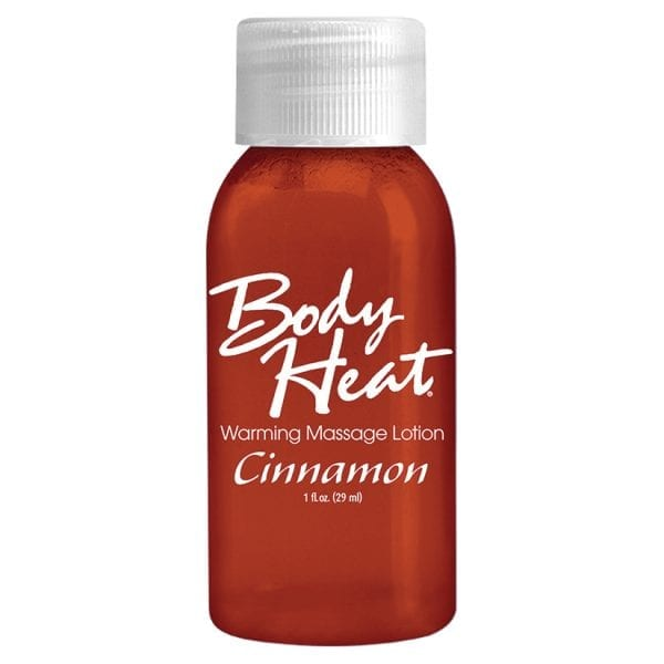 Body Heat Warming Massage Lotion-Cinnamon 1oz - PD9553-72
