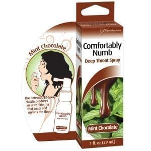 Comfortably Numb Deep Throat Spray-Mint Chocolate 1oz - PD9563-63