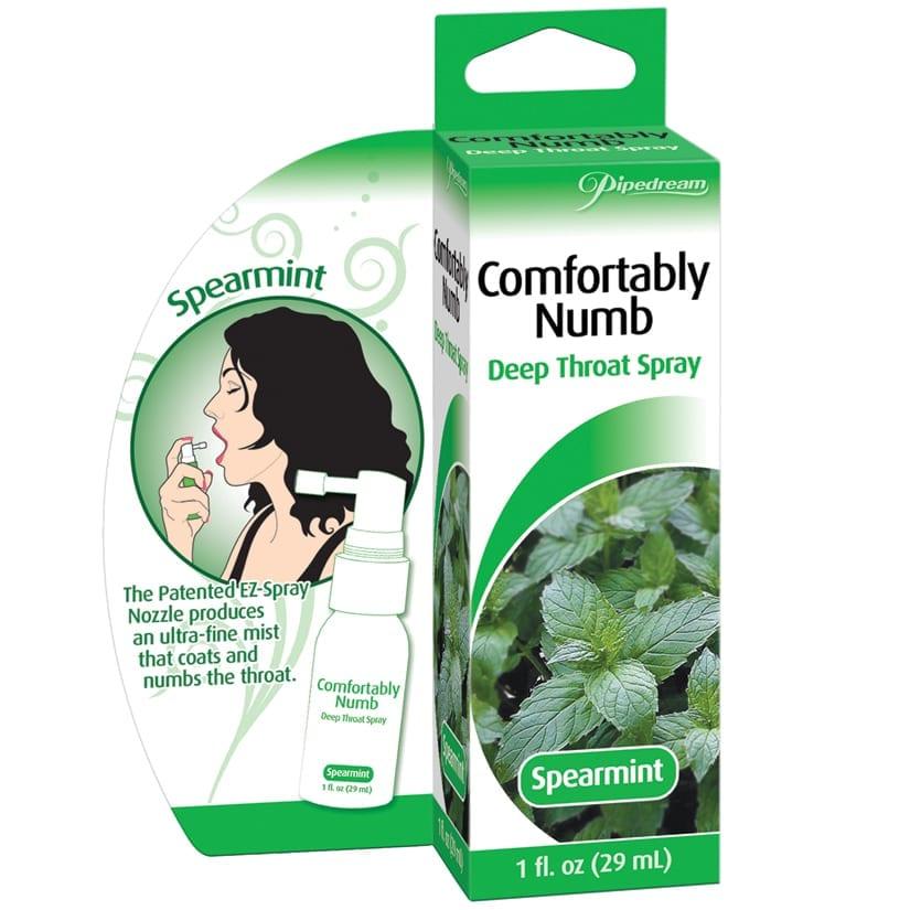 Numbing Deep Throat Oral Sex Comfort