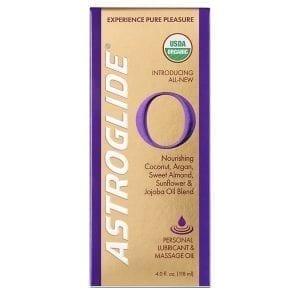 Astroglide O Massage Oil 4 oz. - PM1506-00