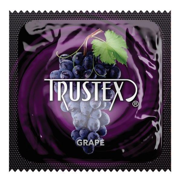 Trustex Flavored Condom-Grape (Bulk) - PM8844C