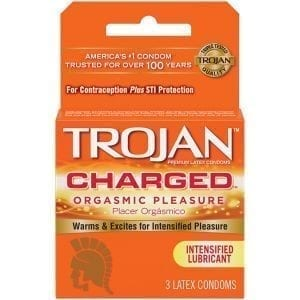 Trojan Charged (Pack of 3) - PM95701