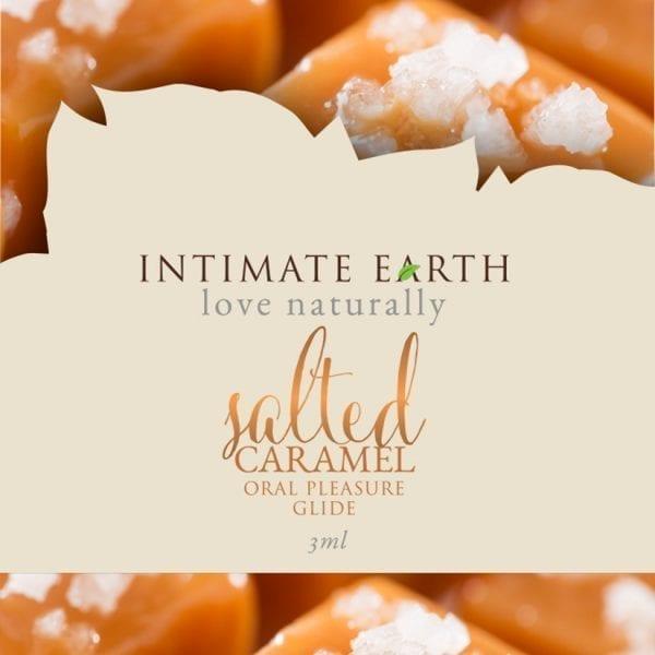 Intimate Earth Oral Pleasure Glide-Salted Caramel Foil 3ml - PP038F