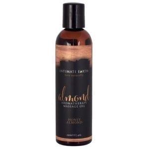 Intimate Earth Aromatherapy Oil-Honey Almond 4oz - PP050