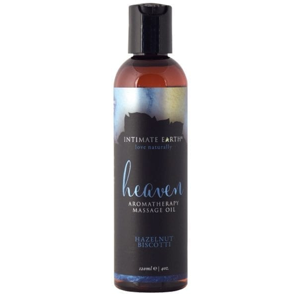 Intimate Earth Aromatherapy Oil-Hazelnut Biscotti 4oz - PP051