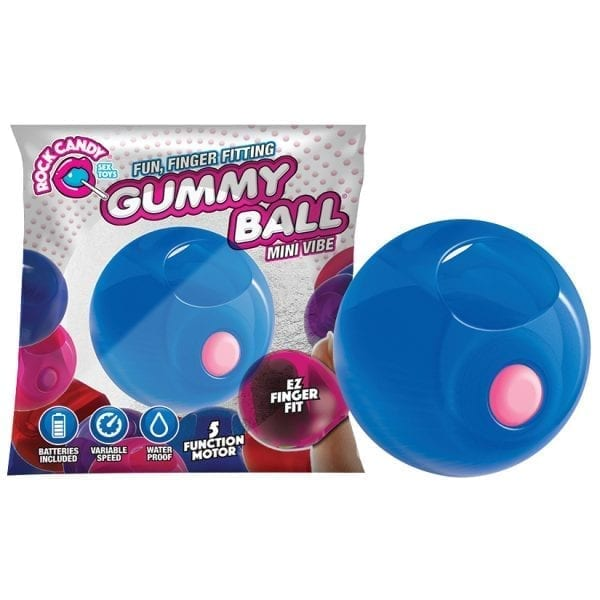 Rock Candy Gummy Balls-Blue - RC1500-02