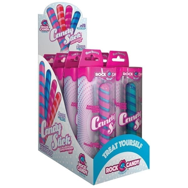 Rock Candy Candy Sticks Assorted Pack of 8 - RC1600-00